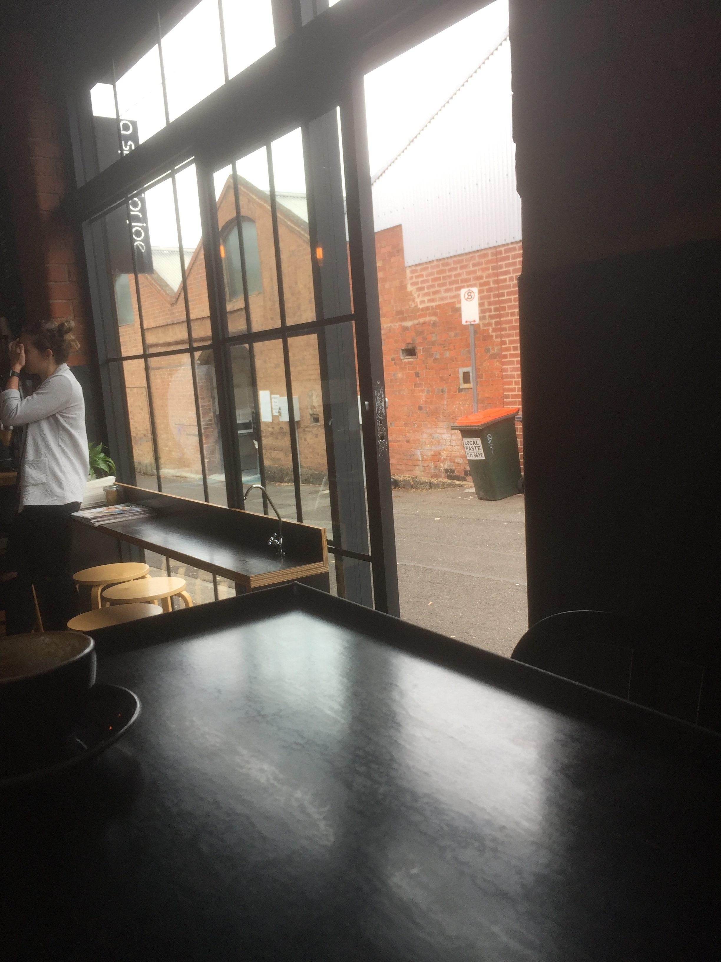 spot for joe geelong cafe