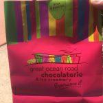 お土産チョコレート