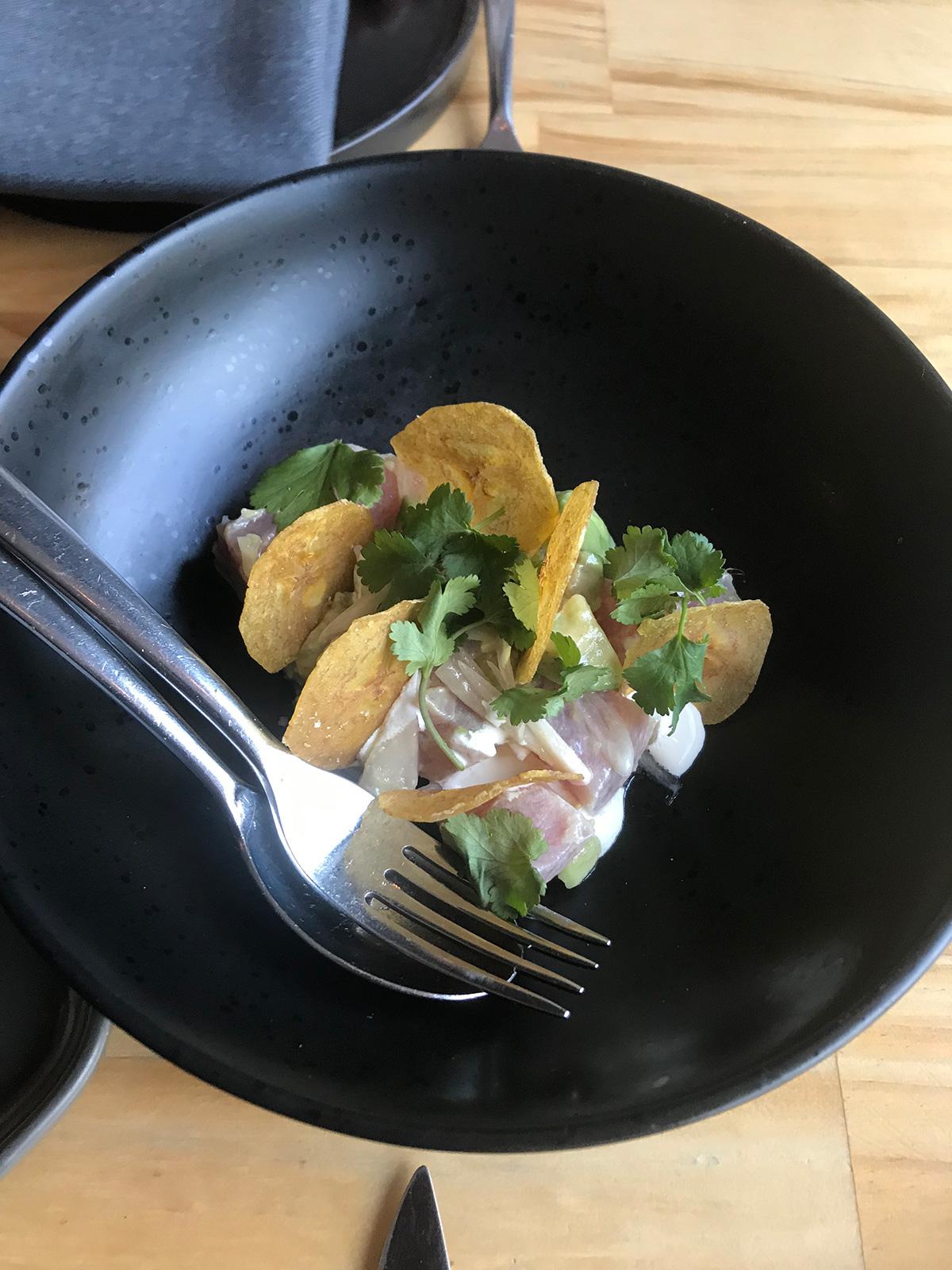 前菜のツナ マグロサラダ